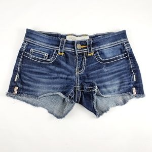 Womens Bke Stella Denim Shorts Size 26